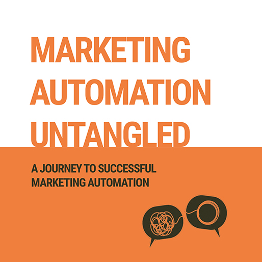 Launch of the new book website for Marketing Automation Untangled